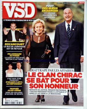 Duel Pour Un Roi - VSD [No 1681] du 11/11/2009 - FOOT
