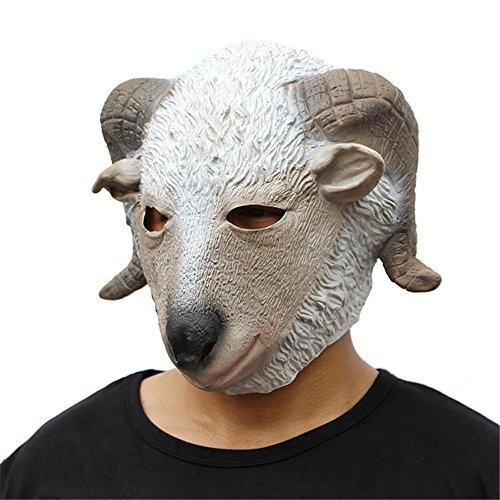 ken Weihnachten Troupes Wolle Gesicht Masken Party Spiele Lustige Qualität Silikon (Diy Silikon-halloween-maske)