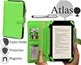 Navitech Green Book Style Case / Cover For The JINYJIA 7 Inch / E-Shop