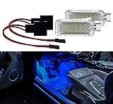 2x Soporte luz LED SMD Módulo Azul para golf 567Polo 6R 6C Leon A1A3A4B6A4B7A4B8A5A6C6A6C7A7A84E