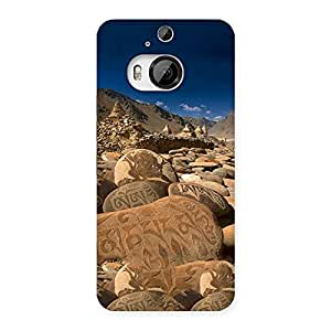 Roads Stone Print Back Case Cover for HTC One M9 Plus