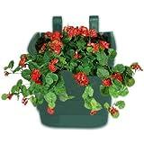 Minerva Naturals Vertical Garden Wall Hanging Pot (Green-10 Qty)