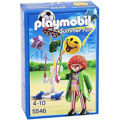 Playmobil Parque de Atracciones - Smileyworld, figura vendedor de globos (5546)