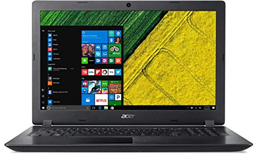 Acer Aspire 3 (AMD A4-9120 – 7th Gen/4GB RAM/1 TB HDD/15.6 inch (39.624 cm) Screen/Windows 10 Home) A315-21 (NX.GNVSI.038) (Black, 1.9 kg)