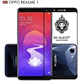 5D Curved Tempered Glass Premium Edge-To-Edge Glass For Oppo Realme 1 (N-1044)