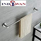 INDISWAN™ Stainless Steel Conceal Towel Rod Holder (24 Inch)
