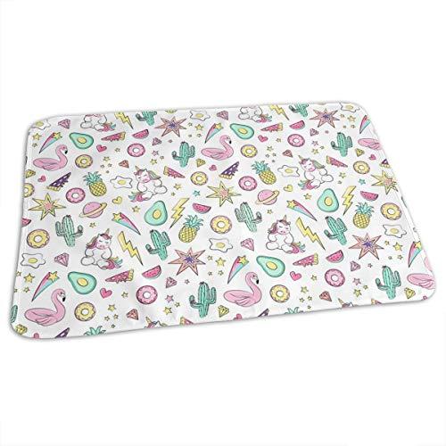 17d557ea Kids, Flamingo, Summer Print Baby Toddler Waterproof Washable Diaper  Portable Reusable Changing Pad Mat