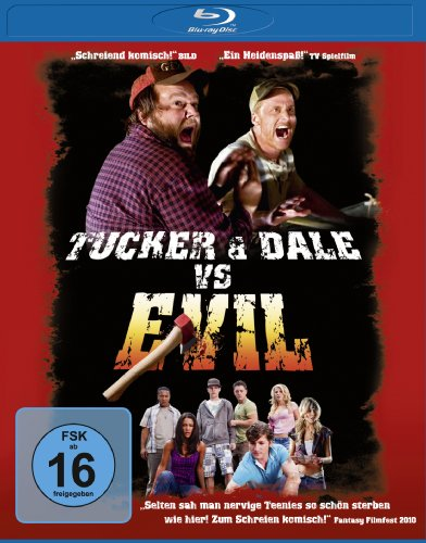 Tucker & Dale vs. Evil [Blu-ray] (Blut-splatter-band)