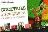 Cocktails et sculptures de fruits et légumes