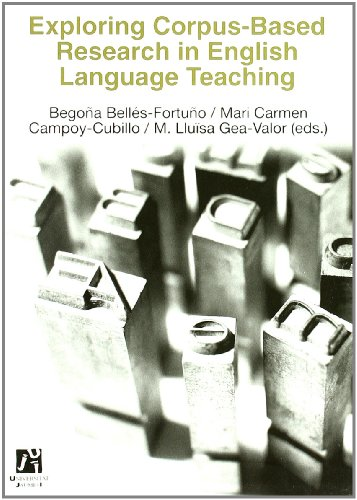 Exploring corpus-based research in English language teaching