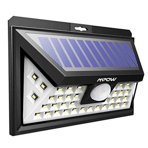 Luce Per Esterno Con Pannello Solare.Mpow Luce Con 40 Led Da Giardino Luci A Led A Energia