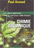 Chimie organique : Cours, QCM et applications