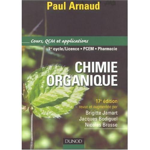 Chimie organique : Cours et applications