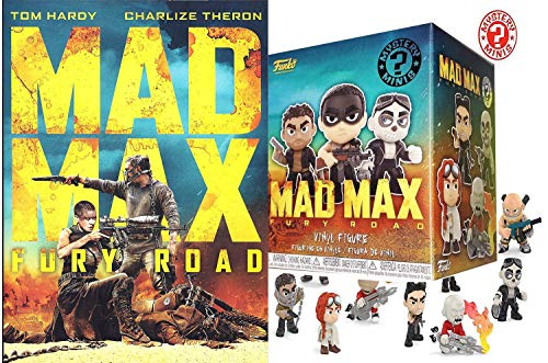 Immortal Mad Max Bundle: Mad Max Fury Road DVD Movie & Mad Max Mystery Minis Blind Box Character Figure Joe Tom Hardy Exclusive Bundle Pack