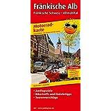 Fränkische Alb - Fränkische Schweiz - Altmühltal: Motorradkarte mit Tourenvorschlägen, Ausflugszielen, Einkehr- und Freizeittipps, reissfest, wetterfest, abwischbar. 1:200000