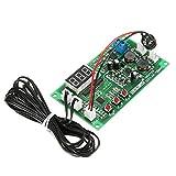 LaDicha Zhiyu Dc 12 V 2 3 Draht Lüfter Smart Temperaturregler Mit Temperatur Geschwindigkeit Digitalanzeige Stop-Rotierenden Alarm Funktion