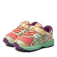 ASICS Gel Noosa TRI 11 TS Flash Coral Multi Infants Velcro Kids Running Trainers