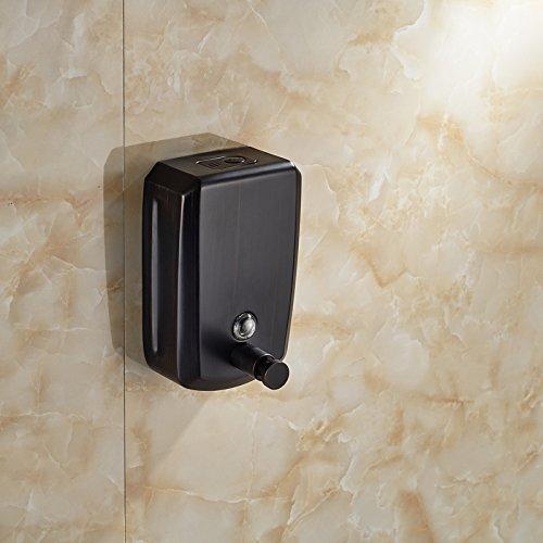 LUDSUY Öl Eingerieben Bronze 800Ml Wandhalterung Badezimmer Seifenspender -