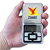 #5: zhart DIGITAL MH-200 WEIGHING SCALE POCKET JEWELRY WEIGHING SCALE 0.01-200G