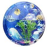 Wand Aquarium, Legendog Kit Acryl Hängen Fisch Schüssel Wand Blumentopf für Wohnkultur
