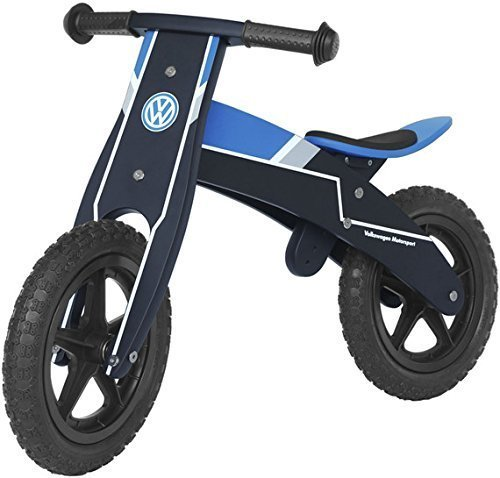 Preisvergleich Produktbild Original VW Volkswagen Motorsport Kinder Laufrad blau
