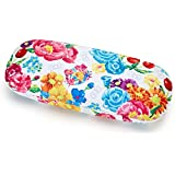 Sanrio Hello Kitty Glasses Case Flower From Japan New