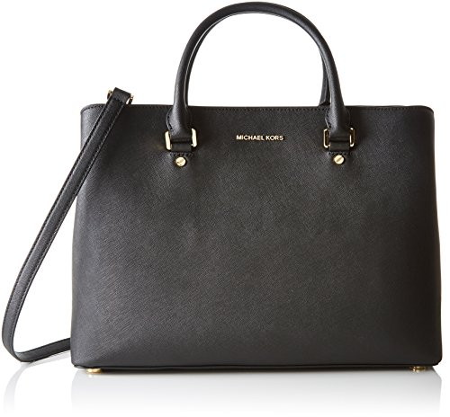 Michael Kors Savannah Borsa Nero