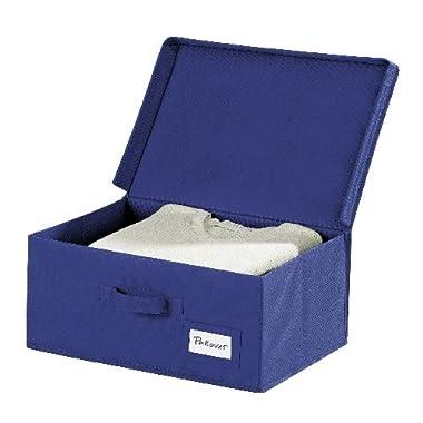 Wenko 4260060100 Aufbewahrungsbox Air L, Polypropylen, 44 x 19 x 33 cm, Blau