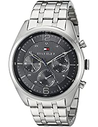 Tommy Hilfiger Analog Grey Dial Men's Watch - NATH1791185
