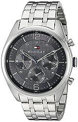Tommy Hilfiger Mens 1791185 Sophisticated Sport Analog Display Quartz Silver Watch