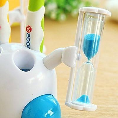 Kids Toothbrush Timer ~ 2 Minute Smiley Sand Timer for Brushing Children's Teeth