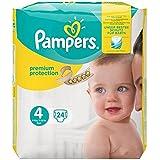 Pampers couches premium protection taille 4 X 24 paquet Prix Unitaire - Envoi Rapide Et Soignée