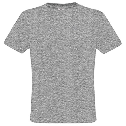 B&C Collection Herren Modern T-Shirt Grau (Sports Grey)