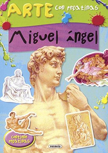 Miguel Ángel (Arte con pegatinas) por José Morán