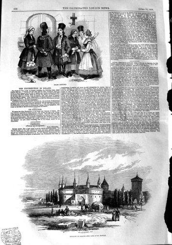 Tor-St. Florian 1846 Polnisches Kostüm-Polens -