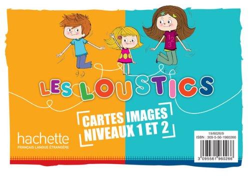 Les Loustics 1 et 2 : 200 cartes-images en couleurs par Hugues Denisot