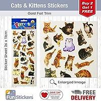 Fun Stickers Cats & Kittens 315