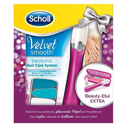 Scholl Nagelpflegesystem Pink im Geschenkset mit Beauty-Etui Extra und Nagelpflegeöl, 1 Stück