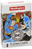 Waddingtons Playing Cards 13780 DC Superheroes Retro Playing Cards Pack