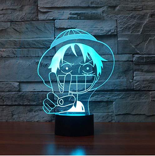 Dormitorio del sueño del bebé 3D Animación colorida Modelado Gradiente Lámpara de...