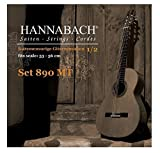Hannabach 890 Serie - Cuerda de guitarra (tensión media 1/2)