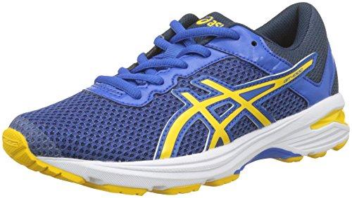 Asics Jungen GT-1000 6 GS Laufschuhe, Mehrfarbig (Victoria Blue/Tai-Chi Yellow/Dark Blue 4504), 40 EU (Asics Gt1000 Herren Laufschuhe)