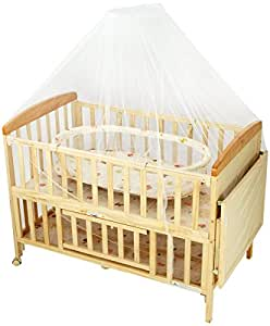 Baby Cot With Bassinet
