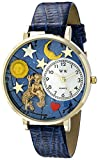 Whimsical Watches Unisex G1810001 Aquarius Royal Blue Leather Watch best price on Amazon @ Rs. 1586