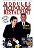 Modules de technologie restaurant CAP - Tome 2 version professeur