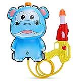 Sungpunet Cartoon 1L Mochila Tire Agua Pistola Soaker Squirt Blaster Toy Blue