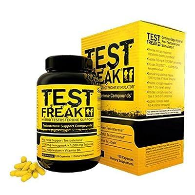 Pharma Freak Test Freak Testosterone Booster Capsules - Box of 120 by Pharma Freak