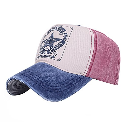 Honour fashion Casquette de Baseball Motif de Pentacle Homme