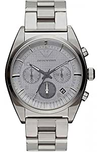 Emporio Armani Herren-Armbanduhr XL Chronograph Quarz Edelstahl beschichtet AR0375