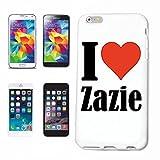 Cas de Téléphone Samsung S8 Galaxy Hashtag #Zazie Mince et Belle, Qui est Notre étui. Le Cas est fixé avec Un clic sur Votre Smartphone dans Un étui Rigide Social Design Network avec Hashtag